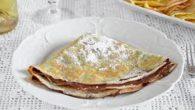 Ingredienti: 3 uova medie 500 ml di latte 250 g di farina 00 Preparazione: Sbattere le uova con una forchetta e aggiungere il latte. Mescolare bene. Setacciare la farina nella […]