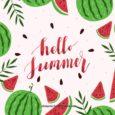 E' arrivata l'estate con campi di papaveri rossi e rondini che volan basse. Tanti insetti nei prati svolazzano indaffarati. Frutti buoni e gustosi, dolci gelati sfiziosi. E' tempo di vacanza! […]