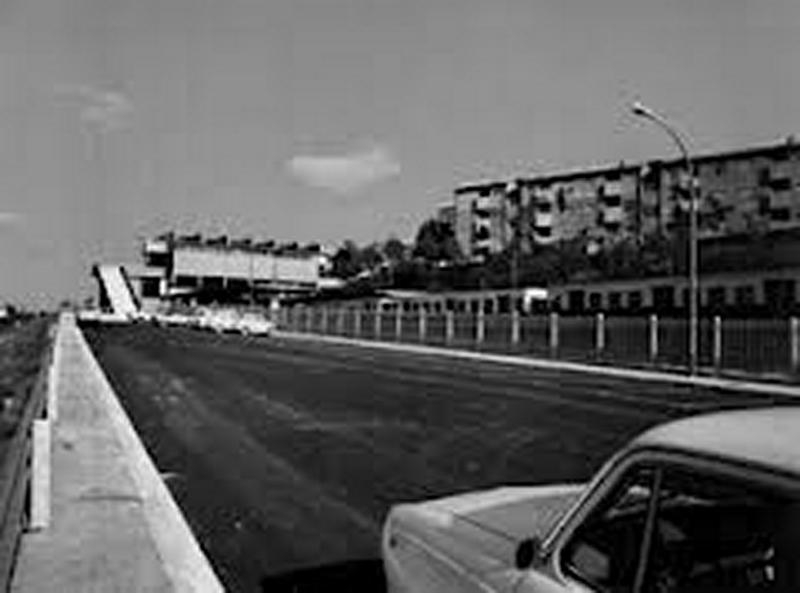 strada che costeggia Centro Giano