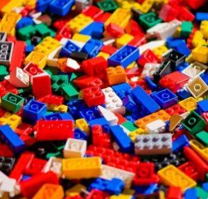 I mattoncini colorati dei LEGO