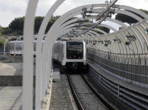 Un treno della linea C