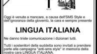 Lunedì scorso, durante una lezione di grammatica a cui la nostra classe aveva partecipato con la collaborazione della professoressaZamparelli, avevamo parlato di come l'italiano è stato rovinato dalle abbreviazioni e […]