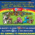 Tutti dovrebbero conoscere l'album Amici Cucciolotti, che dal 2006 contribuisce a salvare gli animali dal bracconaggio e a curare i cuccioli abbandonati. Ogni anno l' Enpa (Ente Nazionale Protezione Animali) […]